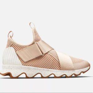 NEW Sorel Kinetic Sneaker Natural Tan